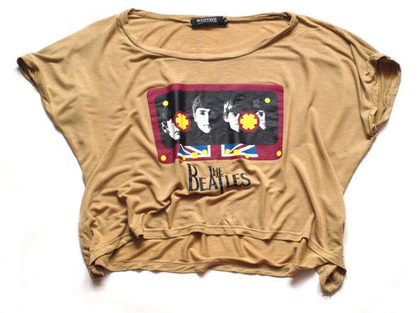 Bluzki Bluzka The Beatles z Romwe