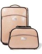 Mohito nude lakierowana walizka kuferek...