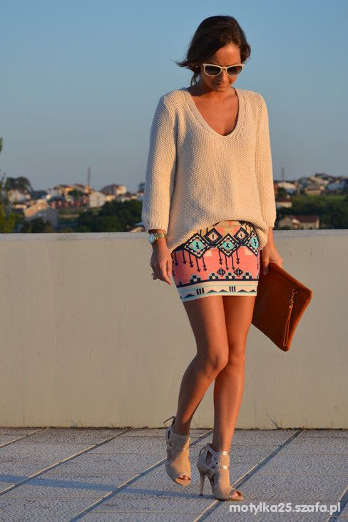 Wasze inspiracje bershka skirt