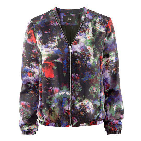 Kwiatowy blazer H&M...