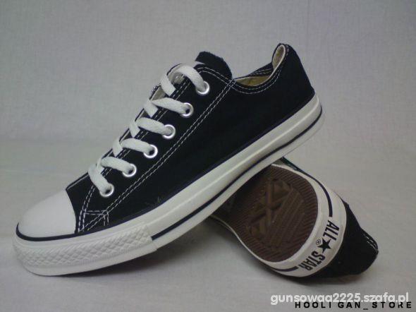 Converse czarne krótkie rozmiar 38 w Obuwie Szafa.pl