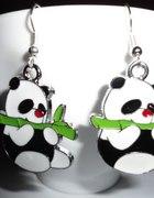 Kolczyki pandy