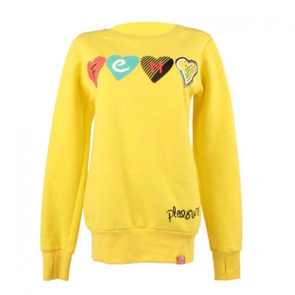Bluza Femi Pleasure żółta S...