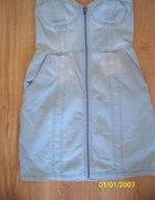 sukienka h&m 36 zip jeans