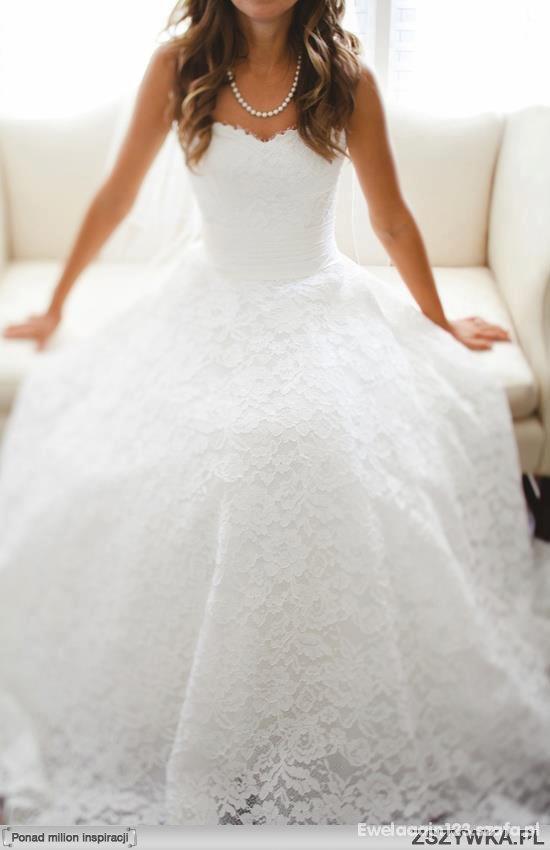 Zjawiskow suknia ślubna