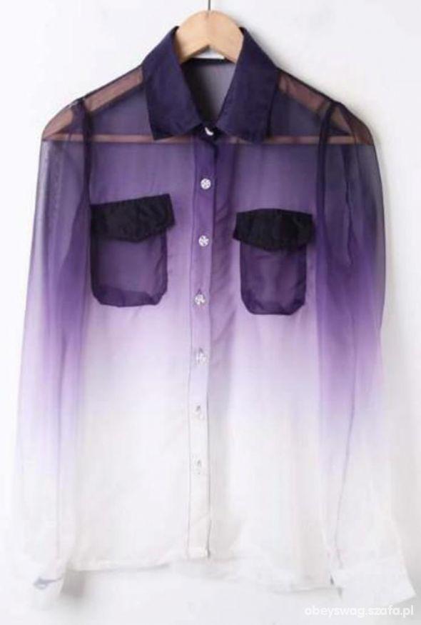 ombre koszula 36