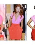 Sukienka H&M neony Kazadi Mołek Kisio