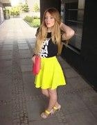 Neon Skirt...