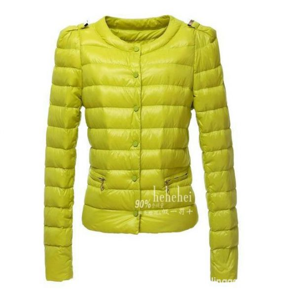 kurtka pikowana limonkowa