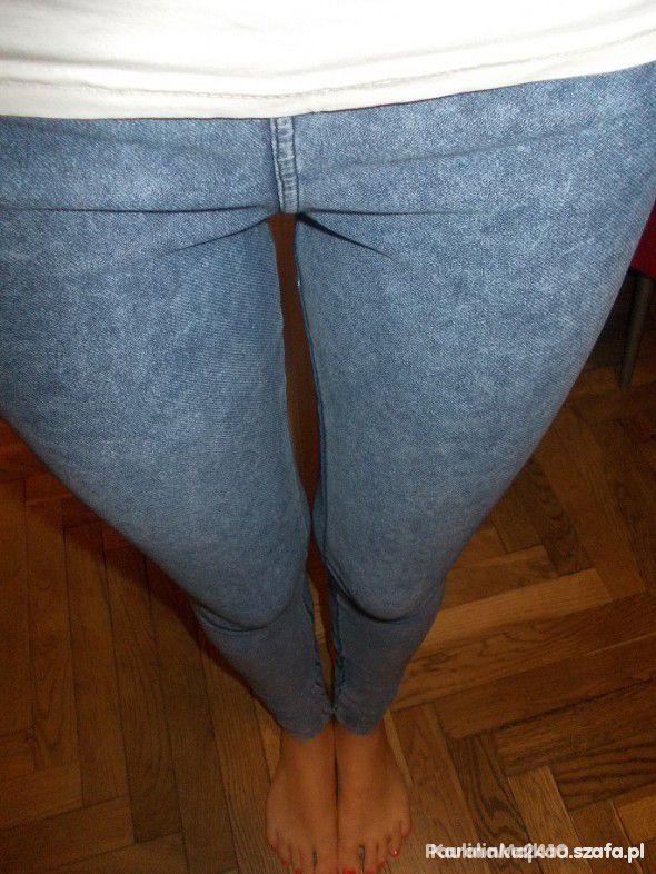 poszukuje legginsow tregginsow spodni S...