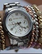 zegarek MICHAEL KORS MK boyfriend DATOWNIK srebrny