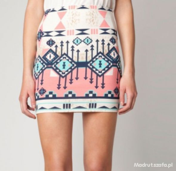 Spódnice bershka aztec