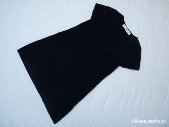 czarna trapezowe sukienki zara