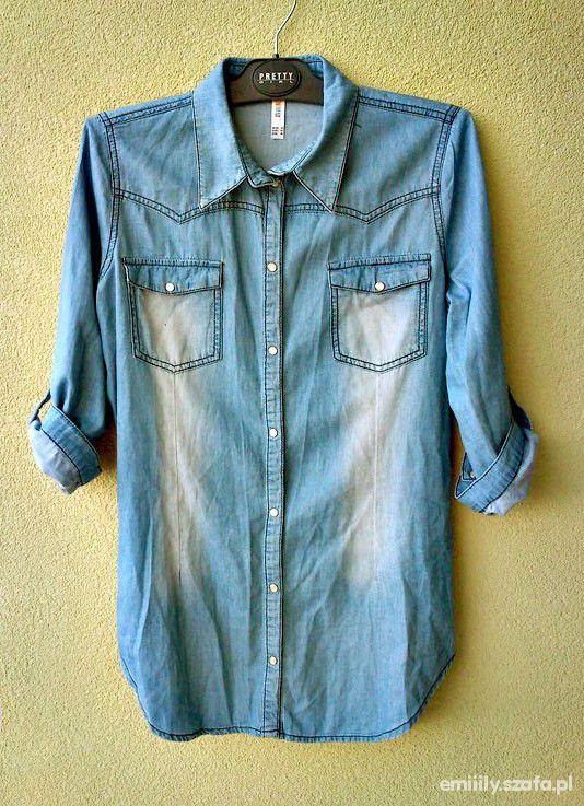 Koszule Jeansowa z sh