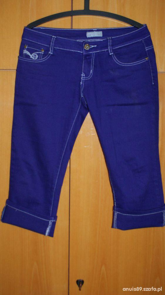 Fioletowe spodnie NOWE