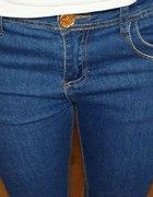 spodnie nowe denim skinny