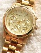 zegarek Michael Kors złoty srebrny i rózowe złoto