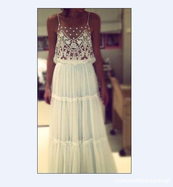 Wasze inspiracje Sukienka mgiełka