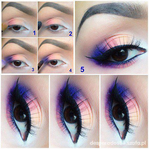 piekny makijaż oczu