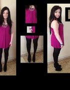 violet tunic