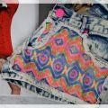 NOWOŚĆ Spodenki SZORTY Neon AZTECKI spodnie HIT