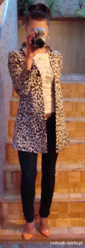 Mój styl Panterka i jeans