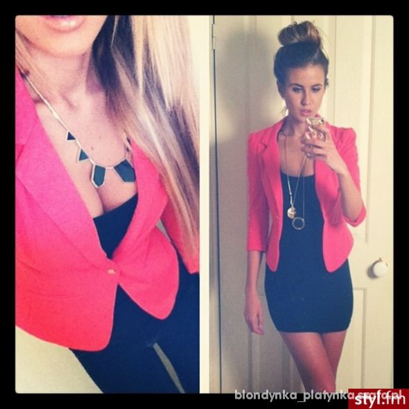 Eleganckie Lady in red
