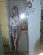 spodniczka plus bluzka...