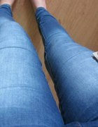 Rurki jeansy DROMEDAR zip