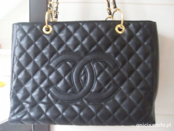 8cd46f78c2b73 torebka Chanel replika pikowana złoty łańcuch w Torebki na co dzień ...