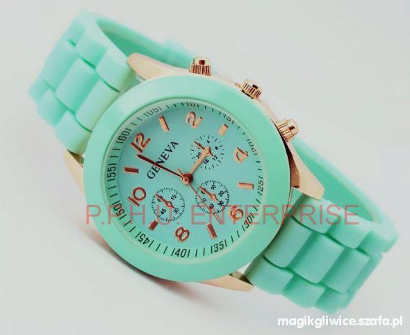 Geneva Jelly Watch MIĘTOWY