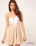 sukienka rozkloszowana asos