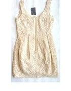 ZIP koronkowa sukienka h&m