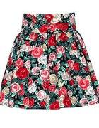 Spódnica H&M garden floral kwiaty 36