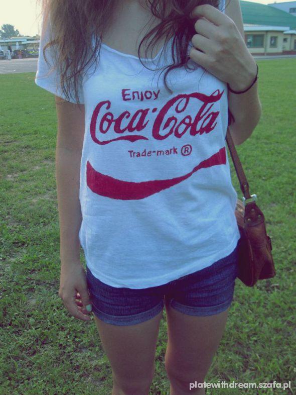 biała z Coca Colą...