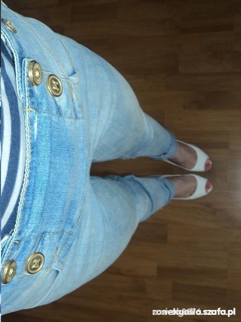 TREGGINSY spodnie rurki 38...