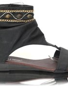 Botki Black Sandały Kamienie Promocja 38...