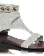 Kamienie Sandały Szare Japonki Promocja 40...