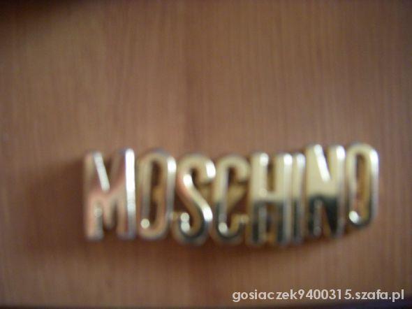Pozostałe Literki MOSCHINO zaproponuj cene