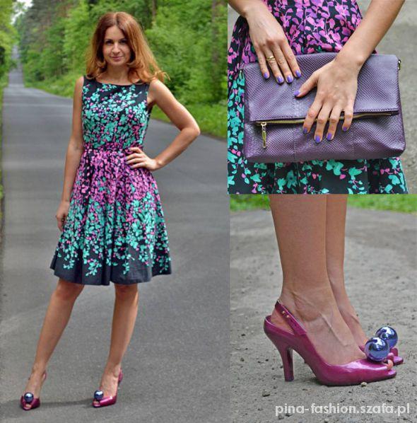 Romantyczne floral dress
