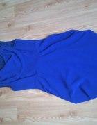 Sukienka kobaltowa elegancka 36 S...