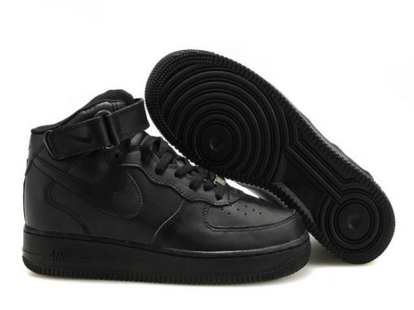 buty nike air force 1 czarne