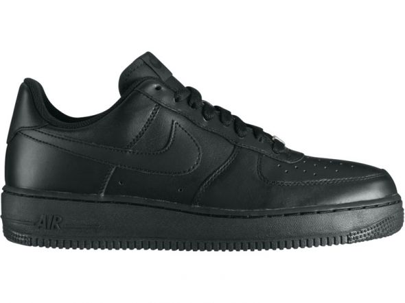new style 343a8 34a31 Sportowe NIKE AIR FORCE AIRFORCE 1 czarne NOWE BUTY ADIDASY
