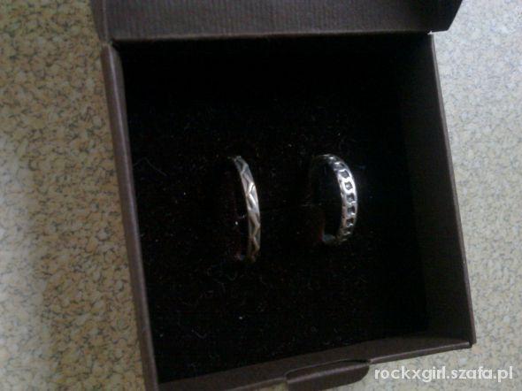 Stare srebrne obrączki