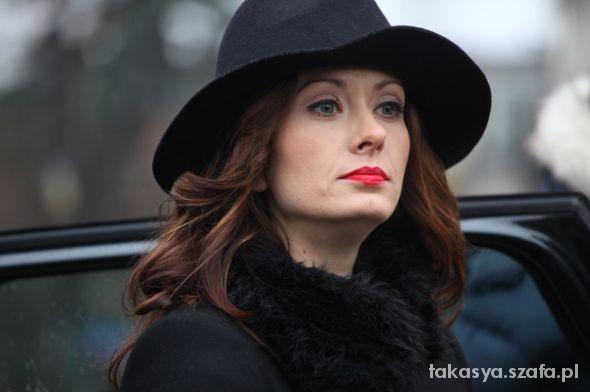 czarny kapelusz