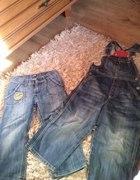 2pary jeansów 104