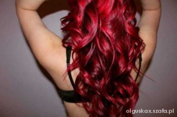red hot hair