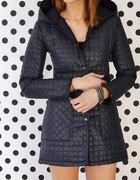kurtka płaszczyk pikowany