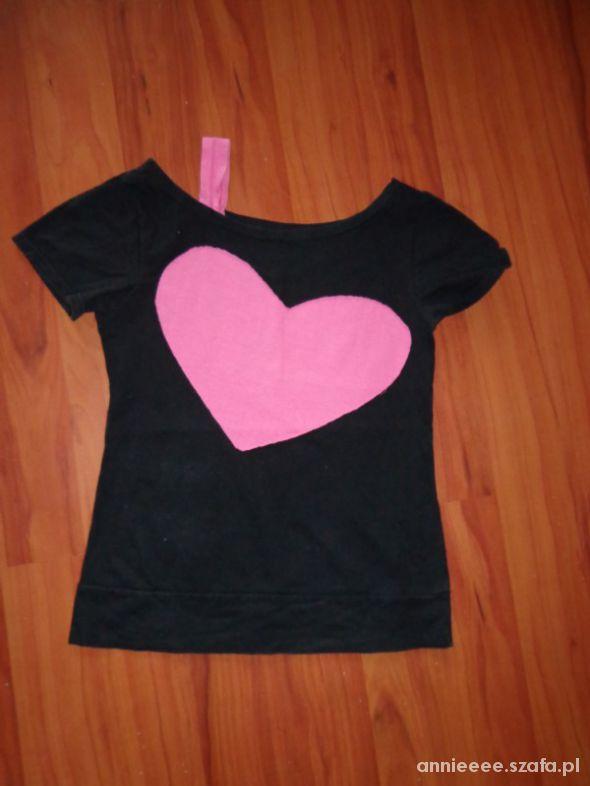 T-shirt Tshirt z serduszkiem