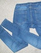 TYLKO DZIŚ tregginsy jeansowe pieces